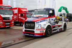 2012 FIA European Truck Racing Championship Royalty Free Stock Images