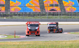 2012 FIA European Truck Racing Championship Royalty Free Stock Image
