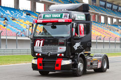 2012 FIA European Truck Racing Championship Royalty Free Stock Photo
