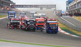 2012 FIA European Truck Racing Championship Royalty Free Stock Photography
