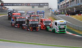 2012 FIA European Truck Racing Championship Stock Image