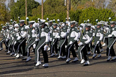 2012 Fiesta Bowl Parade College Marching Band Stock Photography