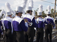 2012 Fiesta Bowl Parade College Marching Band Royalty Free Stock Image
