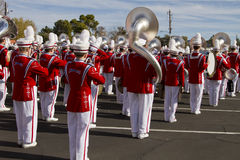 2012 Fiesta Bowl Parade College Marching Band Royalty Free Stock Photo