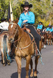2012 Fiesta Bowl Parade Horse Rider Stock Photo