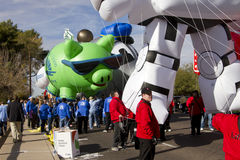 2012 Fiesta Bowl Parade Large Inflatables Royalty Free Stock Photography