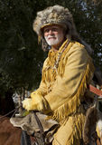 2012 Fiesta Bowl Parade Mountain Man Royalty Free Stock Photo
