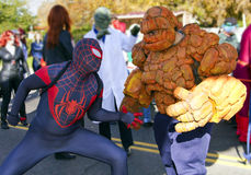 2012 Fiesta Bowl Parade Super Heroes Royalty Free Stock Image