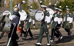 2012 fiesta pucharu parady szkoły wyższa orkiestra marsszowa Obrazy Royalty Free