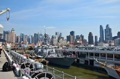 2012 Fleet Week New York City Royalty Free Stock Photography