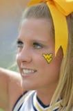 2012 futebol do NCAA - Baylor @ WVU Imagem de Stock Royalty Free