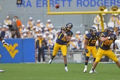 2012 futebol do NCAA - Baylor @ WVU Imagens de Stock