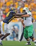 2012 futebol do NCAA - WVU contra Marshall Fotos de Stock