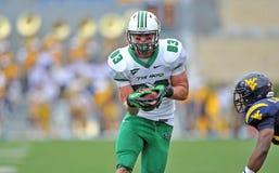 2012 futebol do NCAA - WVU contra Marshall Imagens de Stock