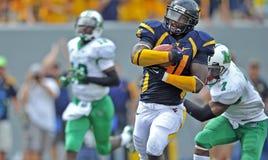 2012 futebol do NCAA - WVU contra Marshall Fotografia de Stock