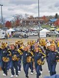2012 futebol do NCAA - WVU contra o TCU Imagens de Stock Royalty Free
