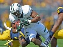 2012 gioco del calcio del NCAA - Baylor @ WVU Immagini Stock Libere da Diritti