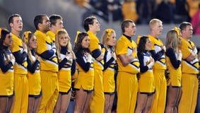 2012 gioco del calcio del NCAA - condizione del K - WVU Immagini Stock Libere da Diritti