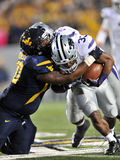 2012 gioco del calcio del NCAA - condizione del K - WVU Fotografie Stock Libere da Diritti