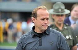 2012 gioco del calcio del NCAA - WVU contro Marshall Fotografia Stock Libera da Diritti