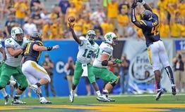 2012 gioco del calcio del NCAA - WVU contro Marshall Fotografia Stock