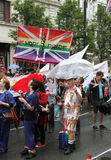 2012 glada london stolthetvärld Arkivfoto