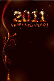 2012 - Happy new year!. Background for new year anniversary - 2012 vector illustration