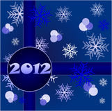 2012 Happy New Year. 2012 Merry Christmas and a Happy New Year Royalty Free Stock Image