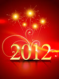 2012 happy new year background. 2012 happy new year vector design stock illustration