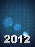 2012 happy new year background Royalty Free Stock Image