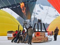 2012 het Festival van de Ballon van de Hete Lucht, Zwitserland Royalty-vrije Stock Afbeeldingen