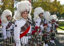 2012 het Marcheren van de Universiteit van de Parade van de Kom van de Fiesta Band Stock Afbeelding