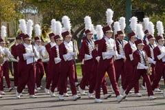 2012 het Marcheren van de Universiteit van de Parade van de Kom van de Fiesta Band royalty-vrije stock foto's