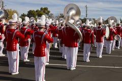 2012 het Marcheren van de Universiteit van de Parade van de Kom van de Fiesta Band Royalty-vrije Stock Foto