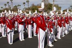 2012 het Marcheren van de Universiteit van de Parade van de Kom van de Fiesta Band Stock Foto