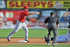 2012 het Minder belangrijke Honkbal van de Liga - Oostelijke Liga Royalty-vrije Stock Foto's