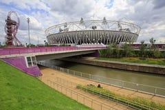 2012 het olympische stadion van Londen Stock Foto