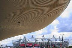 2012 het olympische stadion van Londen Stock Fotografie