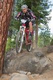 2012 het Ras van de Reeks van Oregon Enduro #1: Kromming, OF Stock Foto's
