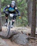 2012 het Ras van de Reeks van Oregon Enduro #1: Kromming, OF Stock Afbeelding
