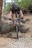 2012 het Ras van de Reeks van Oregon Enduro #1: Kromming, OF Royalty-vrije Stock Fotografie