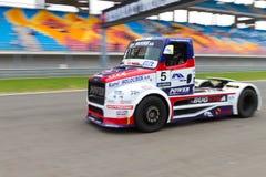 2012 het Rennen van de Vrachtwagen van de FIA Europees Kampioenschap Stock Afbeelding