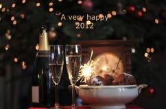 2012 heureux Image libre de droits