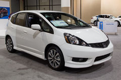 2012 honda Fit Sport Royalty Free Stock Images