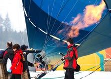 2012 Hot Air Balloon Festival, Switzerland Stock Image