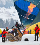 2012 Hot Air Balloon Festival, Switzerland Stock Photography