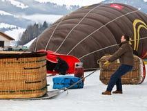 2012 Hot Air Balloon Festival, Switzerland Stock Images