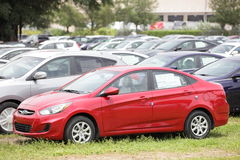 2012 Hyundai Accent Royalty Free Stock Photography