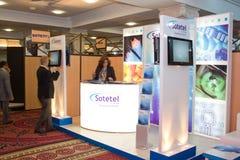 2012 ICT4ALL Ausstellung in Tunesien Lizenzfreie Stockfotografie
