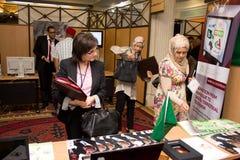 2012 ICT4ALL Ausstellung in Tunesien Stockbilder